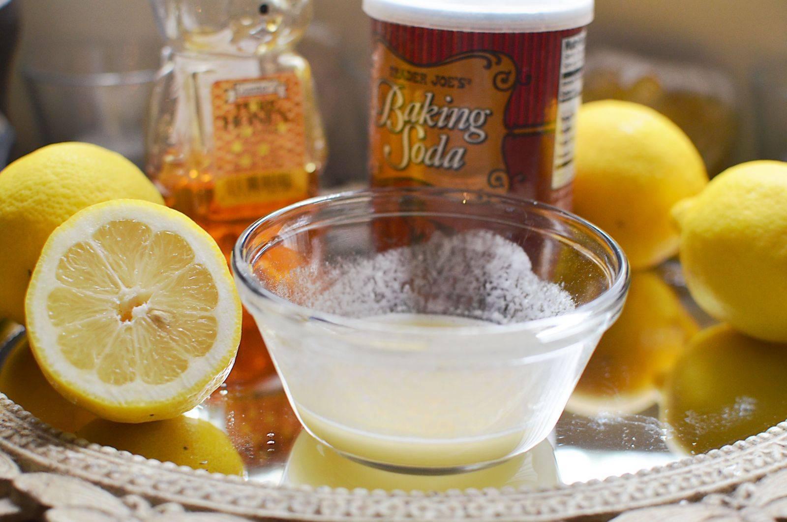 Kết quả hình ảnh cho bột soda baking và nước chanh