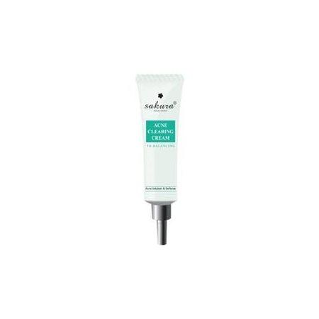 Kem hỗ trợ điều trị mụn Sakura Acne Clearing Cream chính hãng của Nhật