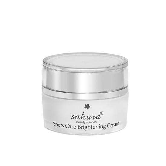 Sản phẩm dưỡng trắng da và ngăn ngừa sạm nám Sakura Spots Care Brightening Cream 13g