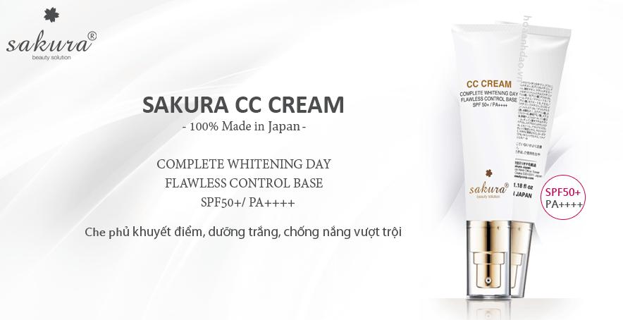 Mua kem trang điểm Sakura CC Cream chính hãng ở đâu uy tín?