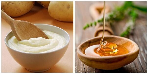 Tất tần tật về cách làm trắng da bằng mặt nạ khoai tây mật ong đang được phái đẹp Việt ưa chuộng