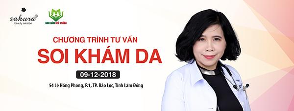 Mai Hân Mỹ Phẩm kết thúc tốt đẹp điểm đến Soi da miễn phí cuối cùng trong năm 2018 tại Bảo Lộc