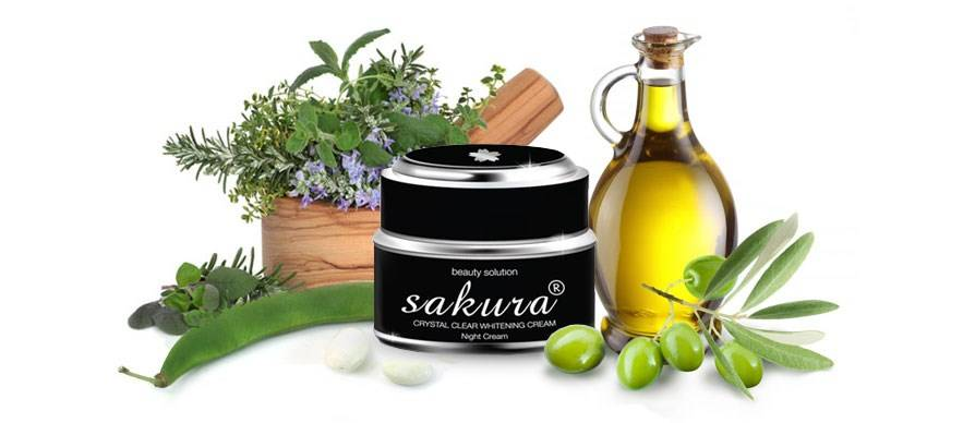 Kem trị nám Sakura Whitening Night Cream chiết xuất thành phần đặc biệt có lợi cho da