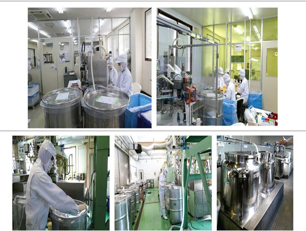 Các sản phẩm của mỹ phẩm Sakura đều được sản xuất theo quy trình khép kín đạt tiêu chuẩn GPM
