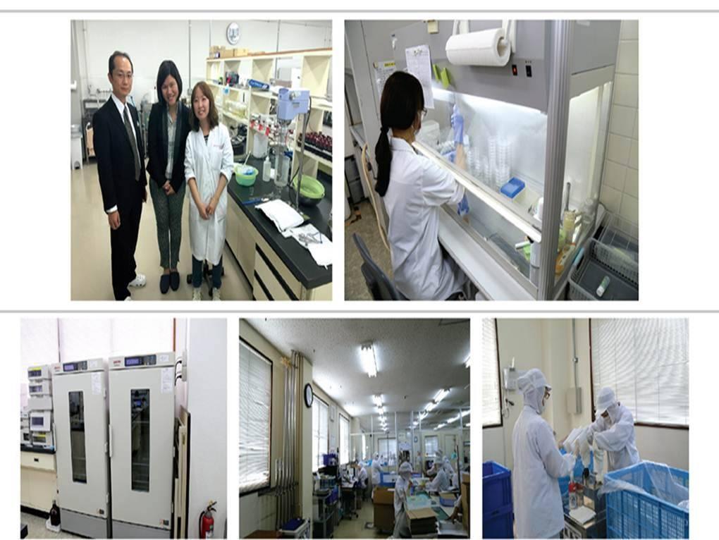 Đội ngũ các nhà khoa học của viện Sakura Beauty Solution tại Nhật Bản